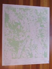 Bostwick Florida 1980 Original Vintage USGS Topo Map