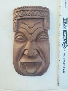 Tiki Mask Wood
