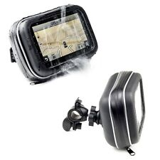 Motorcycle Handlebar Mount & Waterproof Case For Garmin Zumo 660 LM 350 LM GPS