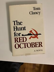 THE HUNT FOR RED OCTOBER!!!Tom Clancy 1984 Edition  Great Shape!