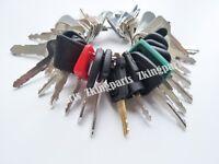 38 NEW Keys - Heavy Construction Equipment Key Set Heavy Duty Ignition Key Set