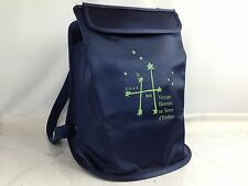 Auth HERMES SHERPA Nylon Backpack Navy Vintage 1999-2000 Exhibition 6E250020