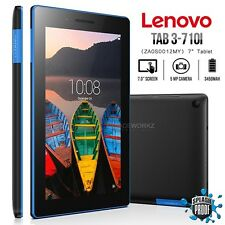"""New Unlocked LENOVO TAB3-710L Essential Black 7"""" IPS Android Mobile Phone Tablet"""