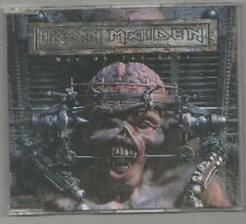 iron maiden  - man on the edge rare dutch    cd single