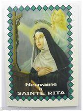 LIVRET NEUVAINE  DE SAINTE RITA