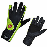 Zimco Hi-Viz Windbreaker  Winter/Windproof Thermal Cycling Bike Gloves Mitts 01