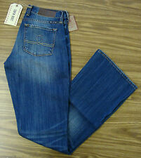Lucky BRAND Dungarees Jean Sofia Boot Style Curvy Through Hip Size 2 Women