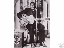 Big Boy Crudup•Mississippi Bluesman•Silver-tone Guitar•11x14 Print