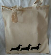 Tote Bag for dachshund owners gift