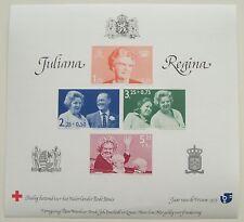 Erinnofilie - Blok Juliana Regina en Red Cross, Jaar van de Vrouw 1975 ongetand