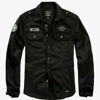 Brandit Luis Herren Hemd Langarm Men Vintage Shirts S M L XL 2XL 3XL 4XL 5 6 7XL