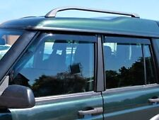 Land Rover Discovery 2, TD5 Wind Deflector 4 Piece Set-Front and Rear Windows