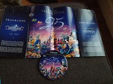 Badge et programme 12 Avril 2017 Disneyland Paris 25 anniversaire Button program