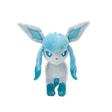 8'' BIG Pokemon Glaceon Plush Toy Soft Stuffed Animal Doll Cuddly Teddy Gift