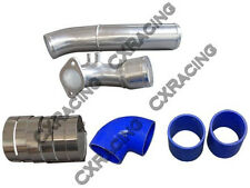 CXRacing Cold Air Intake Pipe Kit For RX7 RX-7 FDStock Twin Turbo 92-02