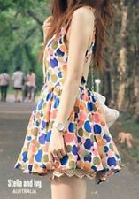 Regular Size Polka Dot Casual Dresses for Women