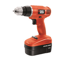 Black and Decker 18 volt 3/8 in. Cordless Drill Driver Kit 750 rpm 1,Electric