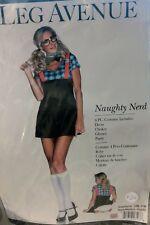Brand New Naughty Private School Girls Nerd Adult Costume size s/m