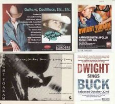 DWIGHT YOAKAM : CUTTINGS COLLECTION - adverts