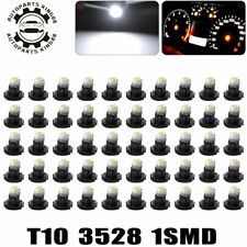 50x Pure White T3 1210-SMD Neo Wedge Led Instrument Panel Dash Gauge Light Bulbs