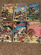 Elf Quest 21 Book Lot 1-4, 7-8, 16-30 F-VF Marvel Epic Wendy Pini 1985-88
