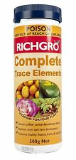 Trace Elements Fertiliser 500g Richgro Garden Plant Fertilizer Manganese