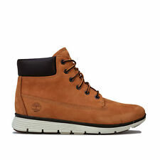 Junior Boys Timberland Killington 6 Inch Boots In Wheat- Lace Fastening- Padded
