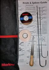Marlow Rope Splicing Kit Marlowbraid 3 strand needles fid whipping twine gift