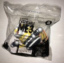 2017 McDonald's Despicable Me 3 Happy Meal Toy #8 Pumping Iron Minion -Sealed