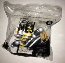 MCDONALDS 2017 Despicable Me 3 Happy Meal Toy Pumping Iron Minion #8 (T11)