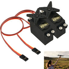 2pcs MG945 Torque Metal Gear Servo HighSpeed For RC Plane Racing Car Helicopter