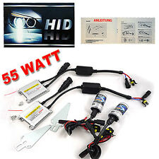 55 WATT HID XENON SLIM KIT SET SATZ NACHRÜSTEN LIGHT AUDI VW BMW POWER DIGITAL