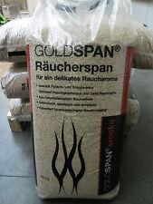 0,883€/kg 15 kg Räuchermehl Räucherspäne Goldspan 1 - 2,5mm Buche Wurst Fisch