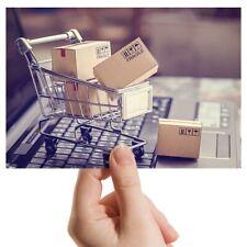 "Photo 6x4"" - Online Shopping Trolley Funny Art 15x10cm #21966"