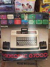 PHILIPS VIDEOPAC G7000 CONSOLLE VIDEOGAMES VINTAGE RARE IN PERFECT CONDITIONS!!!