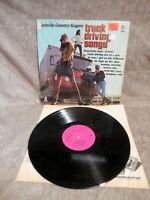 The NASHVILLE COUNTRY SINGERS~Truck Driving Songs~MOUNTAIN DEW Records S-7035