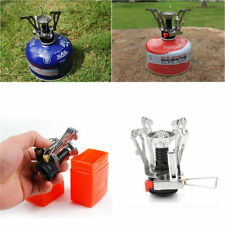 Outdoor Picnic Gas Burner Portable Backpacking Camping Hiking Mini Stove w/ Case