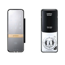 Gateman Shine Clip Electronic Keyless Digital Door Lock for Glass Door Slim Safe