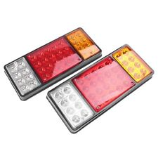 2x 36 LED Stop Brake Rear Tail Light Indicator Reverse Lamp 12V Trailer Truck RV