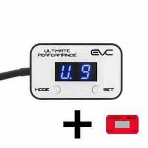 ULTIMATE9 EVC THROTTLE CONTROLLER FOR NISSAN MICRA (K14) 2017 ON EVC801-RED