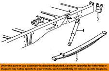GM OEM Rear Suspension-Shackle 15726312