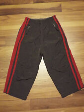 Boys The Childrens Place Gray w/ Red Stripes Athletic Pants 24 mths B13