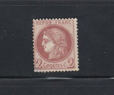 FRANCE CLASSIQUES CERES  n° 51 NEUF 2c rouge brun