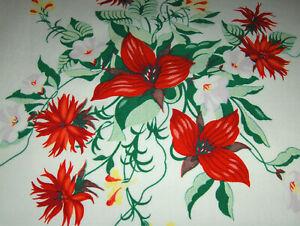 "Vintage Tablecloth - Wilendur ""Trillium"""
