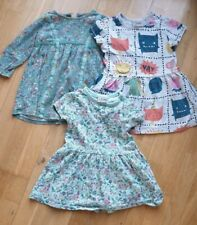 Toddler Dress Bundle 1-1.5 yrs 1.5-2 Yrs Next Miniclub Robots Monsters 3 x items