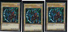 3 x Mikazukinoyaiba LCKC-DE098, Ultra Rare, Deutsch, Mint, Playset