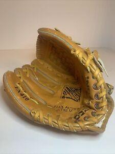 """Easton EX 410 10"""" Baseball Mitt Glove Left Handed Thrower Leather Black Magic"""