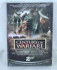 Century of Warfare 2 DVD Set Appx 256 Minutes WWI WWII Korean Vietnam Desert Stm