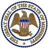 MISSISSIPPI STATE SEAL VINYL FLAG DECAL STICKER  MULTIPLE SIZES TO CHOOSE FROM