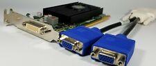 Dell Optiplex SFF Slim 755 760 780 790 960 980 990 Dual Monitor VGA Video Card